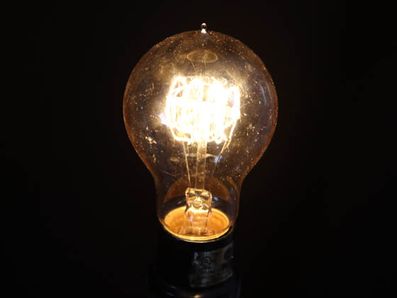 Bulbrite B132520 NOS25-VICTOR 25W 120V A19 Nostalgic Decorative Bulb, E26 Base