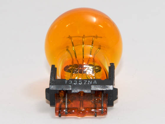 CEC Industries C3457NA 3457NA CEC 28.2 Watt, 12.8 Volt, 2.2 Amp Miniature Natural Amber S-8 Automotive Bulb