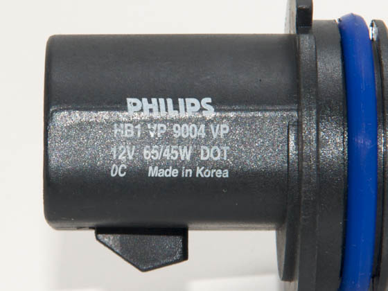 Philips Lighting PA-9004VPS2 9004VPS2 PHILIPS VISION PLUS 9004/HB1 Halogen Low and High Beam Headlight - Up to 50 ft. Longer Beam
