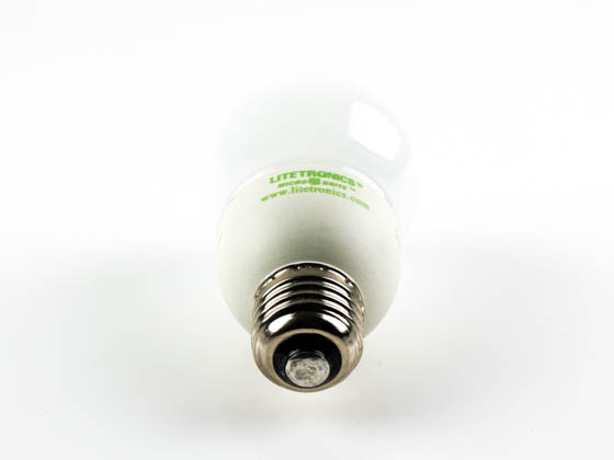 Litetronics MB-801DP 8W/A19/WH/LO/PW 110-130 8W White A19 Dimmable Cold Cathode Bulb, E26 Base