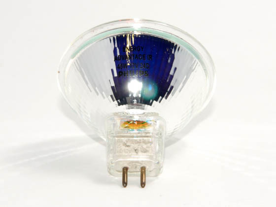 Philips Lighting 202721 45MRC16/IRC/NFL24 (12V, 5000 Hrs) Philips 45W 12V Energy Saving MR16 Halogen Narrow Flood Bulb