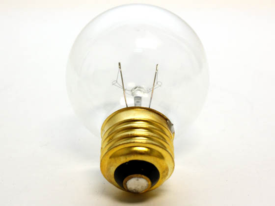 Bulbrite B321025 25G19CL (125V) 25W 125V G19 Clear Globe Bulb, E26 Base