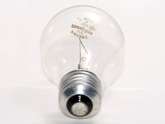 Philips Lighting 214528 57A/CL/LL/TP (120V) Philips California Approved 57 Watt, 120 Volt A19 Clear Long Life Bulb