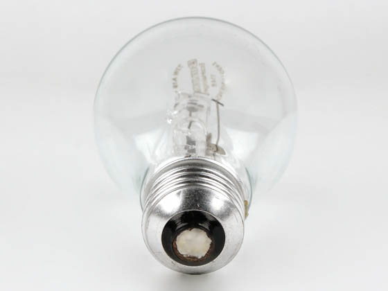 Bulbrite 115070 72A19/CL/ECO 72W 120V A19 Halogen Clear Bulb