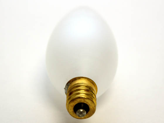 Bulbrite 491060 60CTF/32/2 60W 120V Frosted Blunt Tip Decorative Bulb, E12 Base