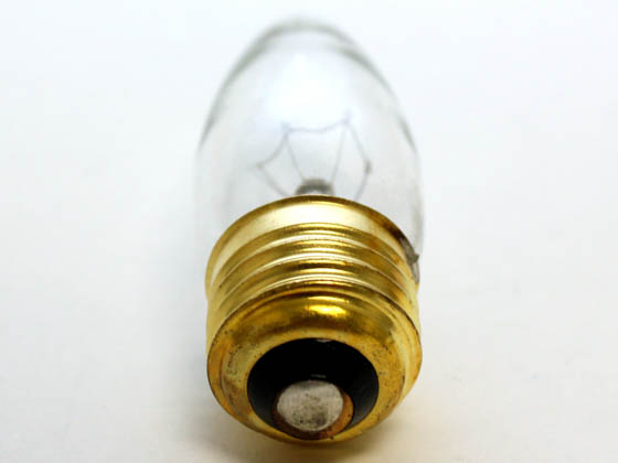 Bulbrite 495040 40ETC/2 40W 120V Clear Blunt Tip Decorative Bulb, E26 Base