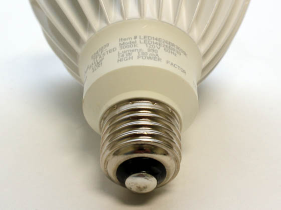 TCP LED14E26BR3030K 14 Watt, 120 Volt DIMMABLE 25,000-Hr LED BR30 Bulb - Similar to Halogen