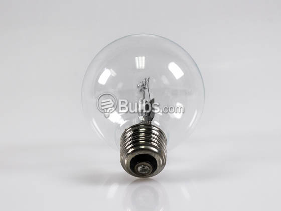Bulbrite 616472 75G25CL/ECO 72W 120V G25 Clear Globe Bulb, E26 Base