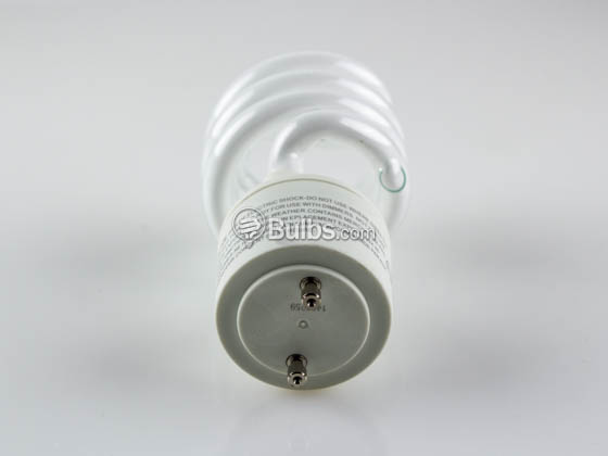 TCP TEC33123SP-50K 33123SP50K 23W Bright White GU24 Spiral CFL Bulb
