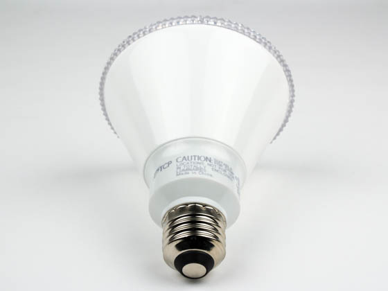 TCP LED14P30D27KFL Dimmable 13.5W 2700K 40° PAR30L LED Bulb, Wet Rated