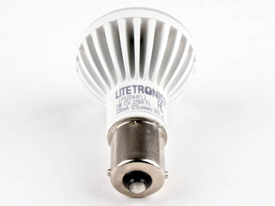 Litetronics LP02D44FL2 2W 12V R12 (1383) Elevator Automotive Reading LED Bulb