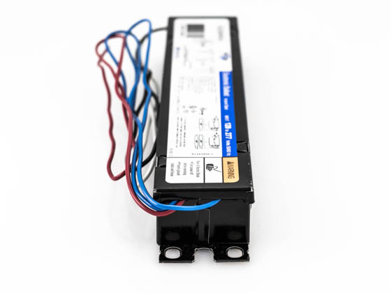 Universal B232IUNVHE-A000I Volt Two Lamp F32T8 Electronic Ballast, Standard Ballast Factor Model