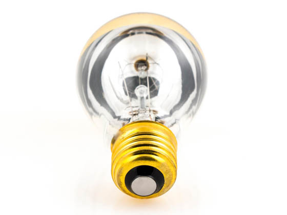 Bulbrite 712416 60A19HG 60W 120V A19 Half Gold E26 Base