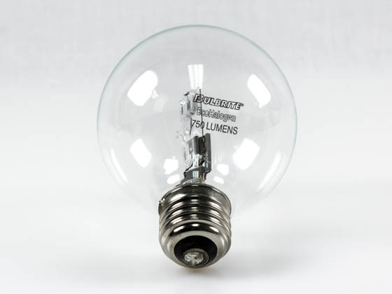 Bulbrite 616443 43G25CL/ECO 43W 120V G25 Halogen Clear Globe Bulb