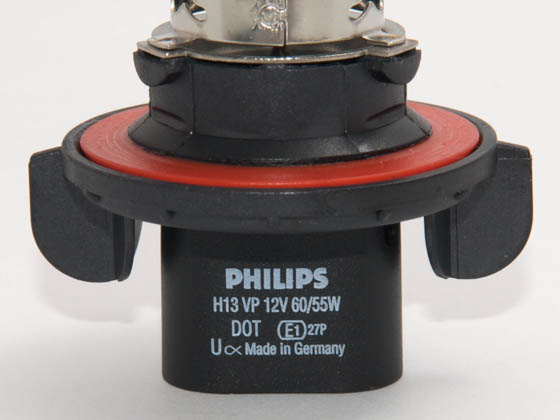 Philips Lighting PA-9008VPB2 9008VPB2 Philips 9008, H13 VisionPlus High and Low Beam Headlight