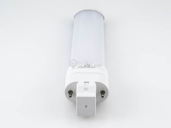 Green Creative 57822 5.5PLS/835/HYB/GX23 5.5W 2 Pin 3500K GX23 Hybrid LED Bulb, Rated For Enclosed Fixtures