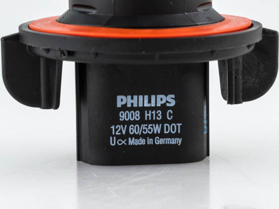 Philips Lighting PA-9008CVB2 9008CVB2 Philips 9008, H13 CrystalVision Ultra High and Low Beam Headlight