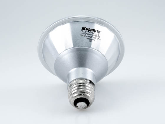 Bulbrite 772724 LED13PAR30S/FL40/830/WD Dimmable 13W 3000K 40° PAR30S LED Bulb, Wet Rated