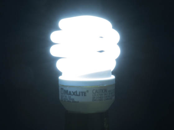 ... MaxLite 76648 SKS13T2DL 149 13W Bright White Spiral CFL Bulb, E26 Base
