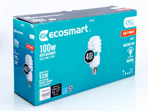 genius sun ecosmart depot led lamp bulbs flood home cool most lights heat bulb light walmart