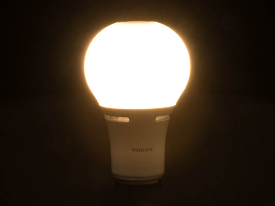Philips Lighting 465153 22A21/LED/827 3WAY ND 120V Philips 3-Way 120 Volt Non-Dimmable 2700K Warm White LED A-21 Bulb