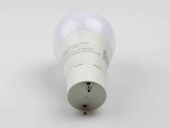 MaxLite 102172 E9A19GUDLED30/G2 Dimmable 9W 3000K A19 LED Bulb, GU24 Base, Enclosed Rated