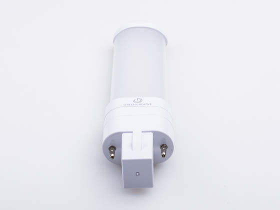 Green Creative 57812 3.5PLS/827/HYB/G23 3.5W 2 Pin 2700K G23 Hybrid LED Bulb, Rated For Enclosed Fixtures