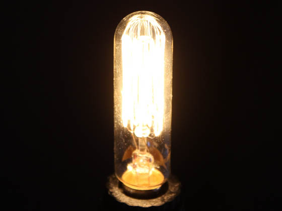 Bulbrite 132507 25T6/SQ/E12 25W 120V T6 Nostalgic Decorative Bulb, E12 Base