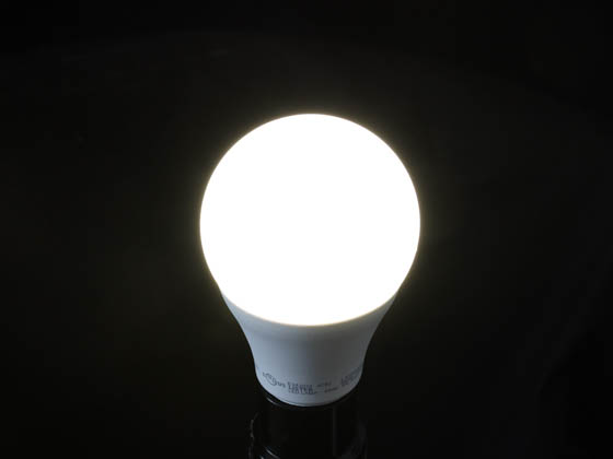 TCP L9A19D2541K Dimmable 9W 4100K A19 LED Bulb, Enclosed Rated