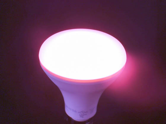 TCP LED12BR30DPNK Dimmable 12W Pink BR30 LED Bulb