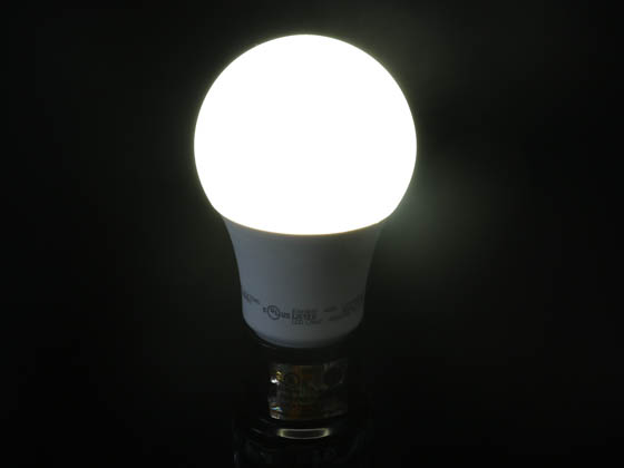 TCP L6A19N1541K Non-Dimmable 6 Watt 4100K A-19 LED Bulb, Enclosed Rated