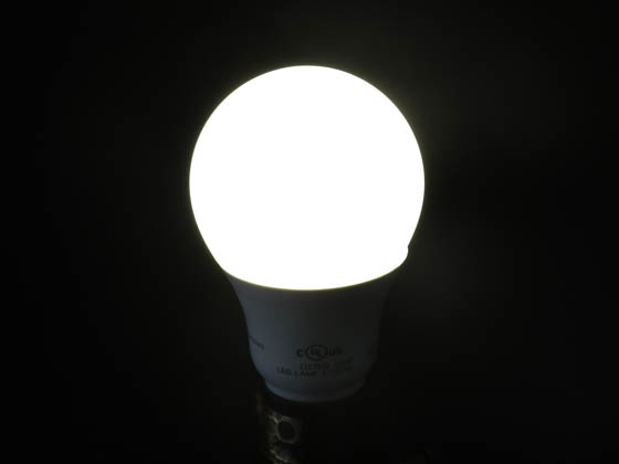Satco Products, Inc. S29838 9.8A19/OMNI/220/LED/40K Satco Dimmable 9.8W 4000K A19 LED Bulb, Enclosed Rated
