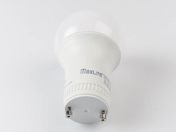 MaxLite 14099411 E11A19GUDLED27/G6 Maxlite Dimmable 11W 2700K A19 LED Bulb, GU24 Base, Enclosed Rated