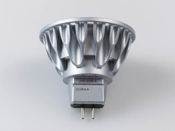 SORAA 00955 SM16-09-25D-927-03 Soraa Dimmable 9W, 12V, 95 CRI, 2700K, JA8 Compliant, Enclosed Rated 25° MR16 LED Bulb, GU5.3 Base