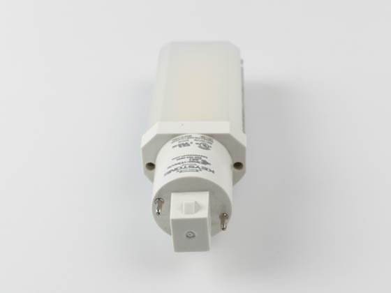 Keystone KT-LED82P-H-830-D Non-Dimmable 8W 2 Pin Horizontal 3000K G24d/G24q LED Bulb, Ballast Bypass
