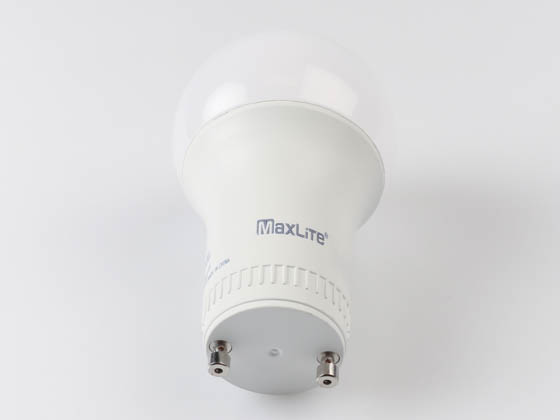 MaxLite 14099411-7 E11A19GUDLED27/G7 Maxlite Dimmable 11W 2700K A19 LED Bulb, GU24 Base, Enclosed Rated