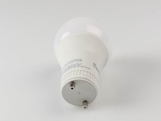 MaxLite 14099416-7 E15A19GUDLED40/G7 Dimmable 15W 4000K A19 LED Bulb, GU24 Base, Enclosed Rated
