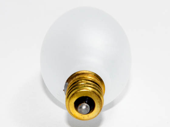 Bulbrite 401040 40CTF/32 (130V) 40W 130V Frosted Blunt Tip Decorative Bulb, E12 Base