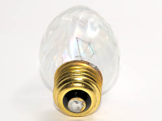 Bulbrite 421160 60F15CL 60 Watt, 130 Volt F15 Clear Fiesta Decorative Bulb