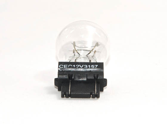 CEC Industries C3157 3157 CEC 27W or 8.3W, 12.8V or 14V, 2.1A or 0.59A Mini S8 Bulb