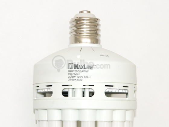 MaxLite M35872 SKO200EAWW 8U E39 200W 120V Warm White CFL Bulb with E39 base