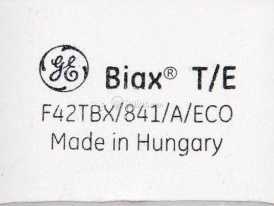 GE GE97636 F42TBX/841/A/ECO (4-Pin) 42W 4 Pin GX24q4 Cool White Triple Twin Tube CFL Bulb