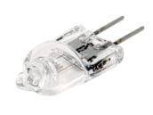 Ushio U1000867 JC6V-30W/G4 30W 6V JC Capsule Lamp with Bipin Base