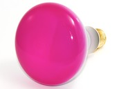 Bulbrite 75W 120V BR30 Pink Reflector E26 Base