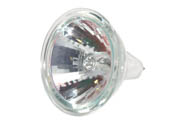 Eiko W-ESX-FG ESX-FG (12V, 3000 Hrs) 20W 12V MR16 Narrow Spot ESX Bulb with Front Glass