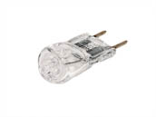 Bulbrite B655021 Q20GY8/120 (GY8 Base) 20W 120V T4 Clear Halogen 8mm Bipin Bulb