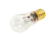 Bulbrite 703006 6S6 (130V) 6W 130V S6 Clear Sign E12 Base