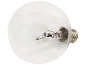 Bulbrite B461225 KR25G16CL 25W Clear Krypton G16 Decorative Bulb, E12 Base
