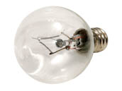 Bulbrite B461040 KR40G11CL 40W 120V Clear Krypton G11 Globe Decorative Bulb, E12 Base