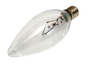 Bulbrite B460060 KR60CTC/32 60W 120V Clear Krypton Blunt Tip Decorative Bulb, E12 Base